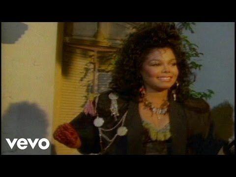 Janet Jackson - When I Think Of You - YouTube