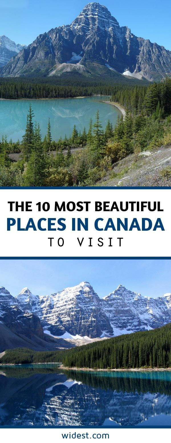 Canada is the second largest country by area in the world. and it boasts some incredible natural wonders. Waterfalls, beaches, grassy tundra, impressive cities and the Aurora Borealis.  Here are ten of the most beautiful travel destinations in the Great White North.