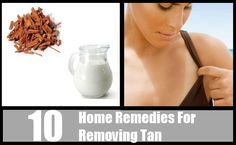 10 Most Effective Home Remedies For Removing Tan - Natural Treatments & Cure For Tan Skin | Search Herbal & Home Remedy