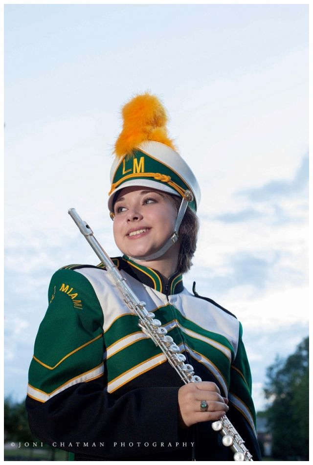 outdoor band senior pictures