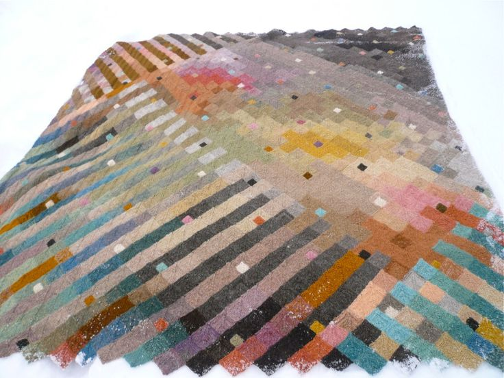knitted blanket 2012 | by amona