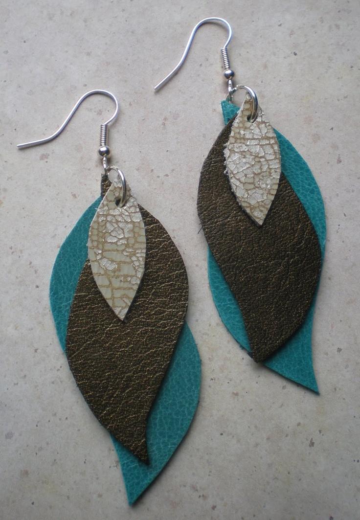 Leather Earring Pattern