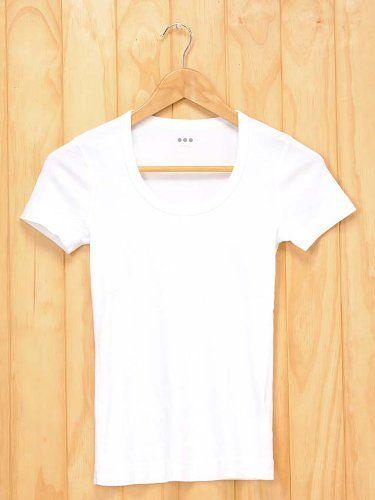 Amazon.co.jp: (スリードッツ) Three Dots スクープ Uネック/半袖Tシャツ/カットソー レディース AA1S004W [並行輸入品]: 服&ファッション小物