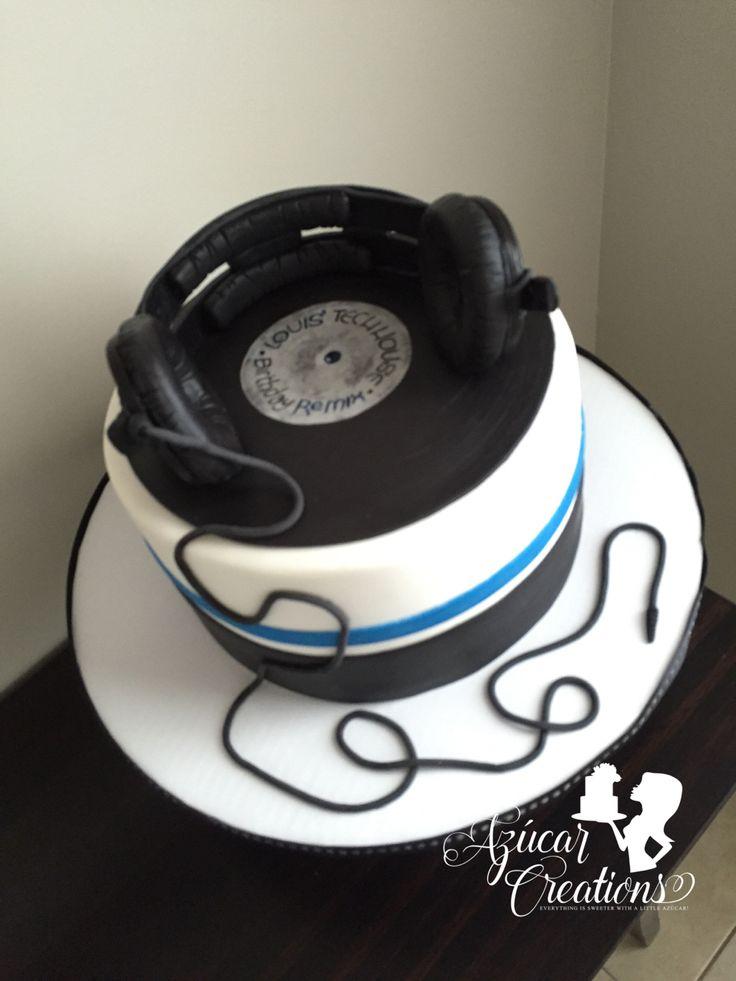 Dj Mic Happy Birthday Cake