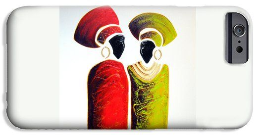 Vibrant Zulu Ladies iPhone 6 Case by Tracey Armstrong