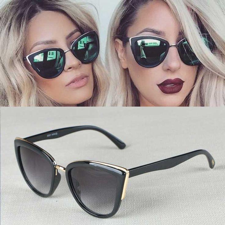 $5.00 (Buy here: https://alitems.com/g/1e8d114494ebda23ff8b16525dc3e8/?i=5&ulp=https%3A%2F%2Fwww.aliexpress.com%2Fitem%2FVintage-Cat-Eye-Mirrors-sunglasses-men-Luxury-Brand-Women-Sunglasses-2016-Fashion-Driving-glasses-oculos-gafas%2F32713054725.html ) Vintage Cat Eye Women Mirrors Sunglasses Luxury Brand Design Women Sunglasses Fashion Driving Glasses UV400 Oculos Gafas De Sol for just $5.00