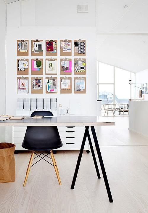 Фотография: Мебель и свет в стиле Современный, Декор интерьера, DIY, Хранение, Советы, доска, пробковая доска, inspirational board, доска вдохновения – фото на InMyRoom.ru