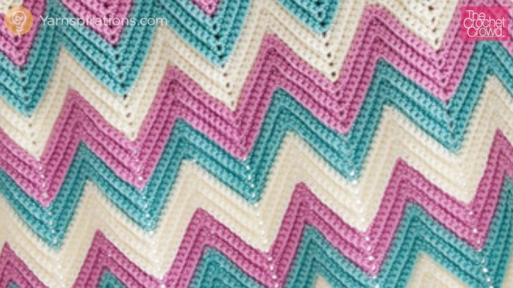 Zig Zag or Chevron Afghans can be daunting to some crocheters. The edges freak people out and sometimes the counts be hard to figure out.
