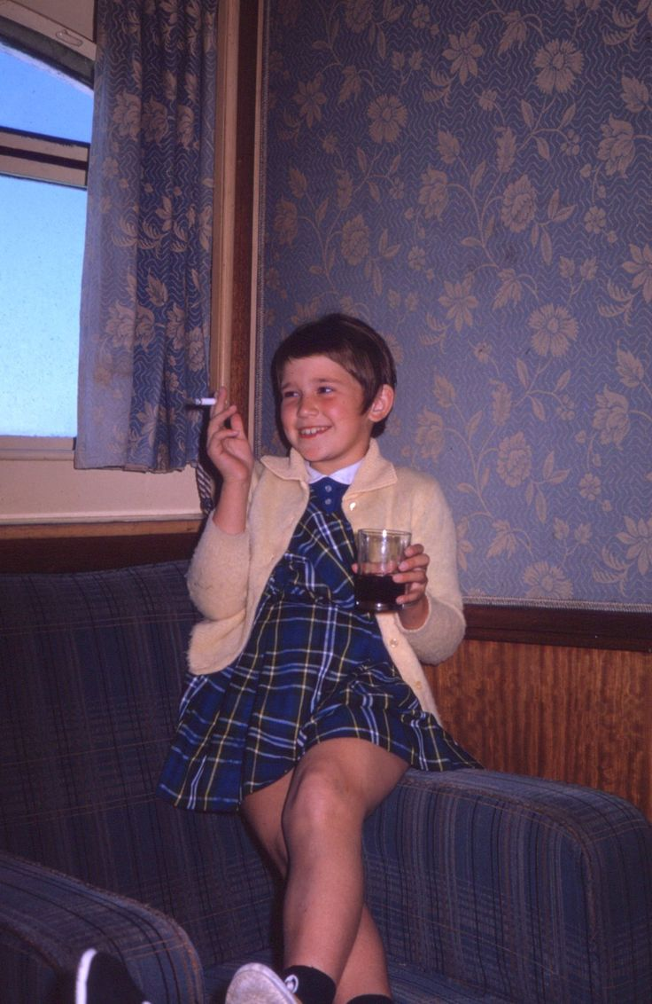 Every day when she came home from Our Lady of Eternal Agonies Elementary School, Cousin Phyllis relaxed with a cigarette and a highball.