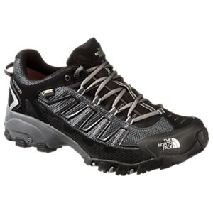 The North Face Ultra 109 GTX GORE-TEX Running Shoes for Men - TNF Black/Dark Shadow Grey - 11.5 M