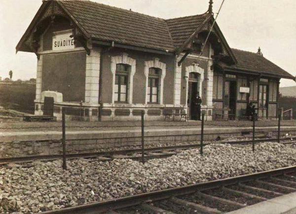Geçip giden hatıralar F: Suadiye Tren İstasyonu (tarih?) #istanbul #istanlook #birzamanlar