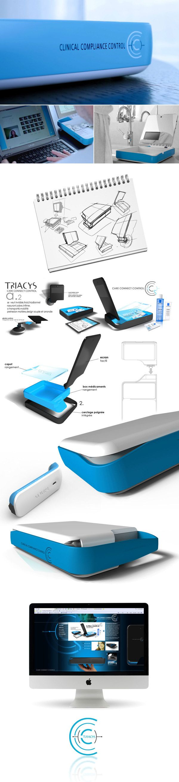 TRIACYS Medical device on Behance