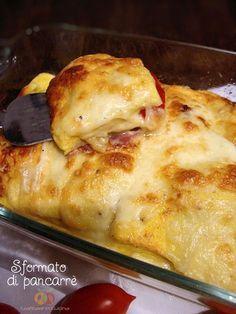 Sformato di pancarrè gustoso http://blog.giallozafferano.it/graficareincucina/sformato-di-pancarre-gustoso/