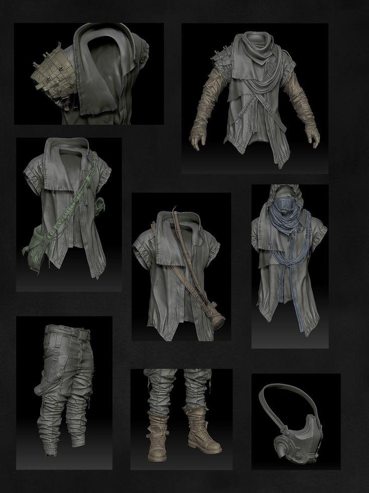Postapocalyptic Character - Marcus - Page 5