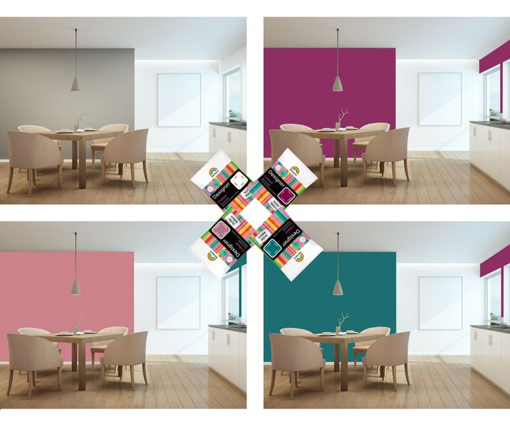 Który kolor byście wybrali? Testery kolorów Beckers Designer Colour mogą ułatwić Wam podjęcie decyzji ;)