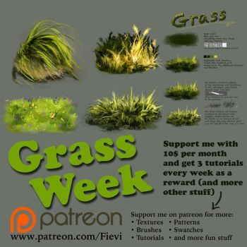 Grass week by Fievy