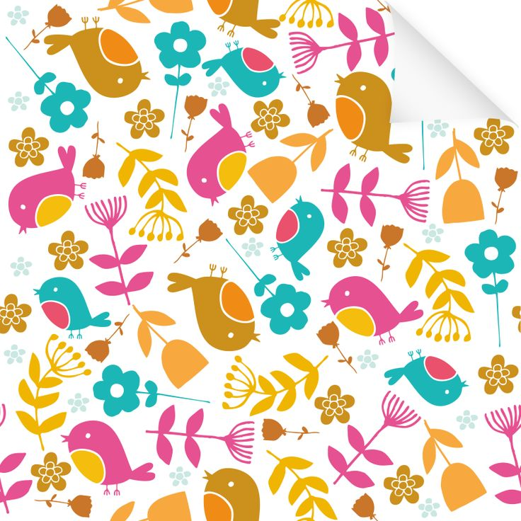 Klebefolie Dekor Muster Vogel Klebefolie Dekofolie Und