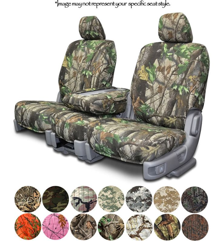 Custom Fit Camouflage Seat Covers for Chevy Silverado Pickup Truck in eBay Motors | eBay