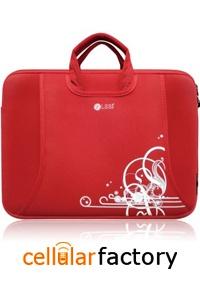 Hp Pavilion dv1000 14 inch Red Printing Laptop Case Bag