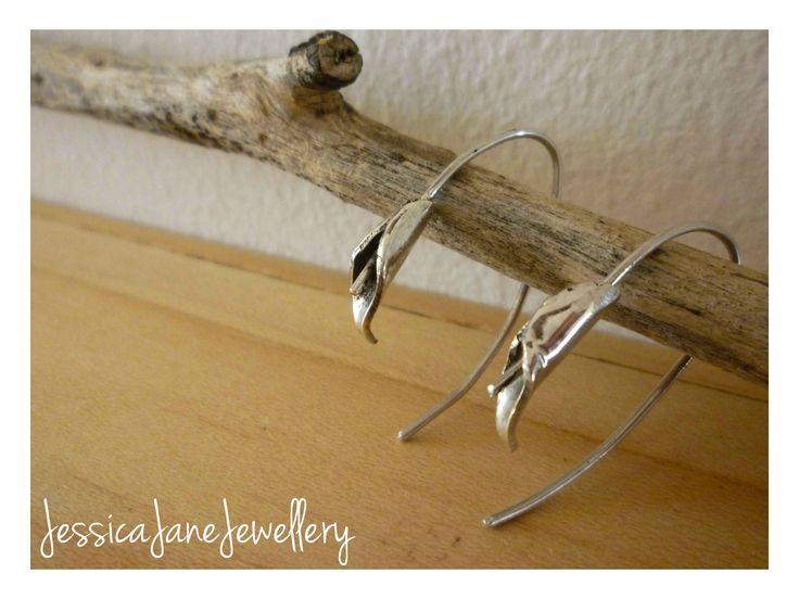 Lily Earrings - Silver