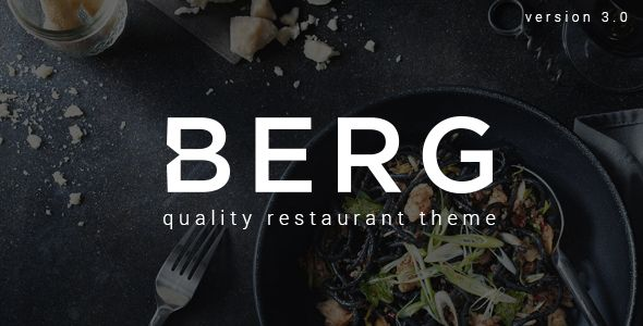 BERG – restaurant template with multipurpose ambitions. BERG is our most beautiful, advanced and feature rich WordPress theme yet. Download it For Free..
