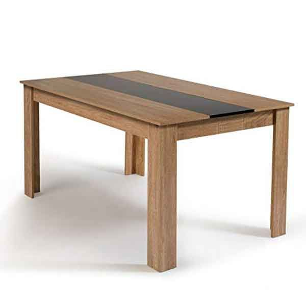 table mdf pour 6 personnes table