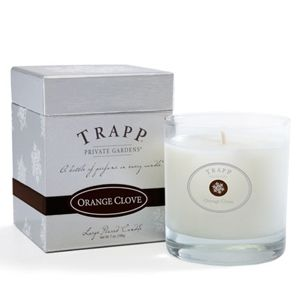 Love this brand. Orange Clove - 7oz Poured Candle | Trapp Candles
