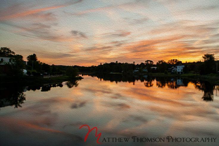 Eganville Sunset #Eganville #Art