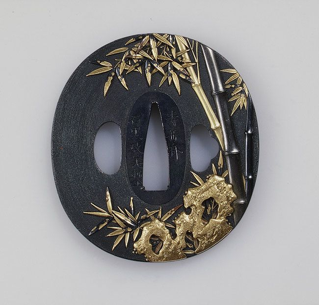 Ishiguro Masayoshi: Sword guard (tsuba) (36.120.79) | Heilbrunn Timeline of Art History | The Metropolitan Museum of Art