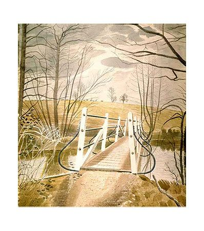 Ironbridge at Ewenbridge (Giclee Limited Edition of 950) by Eric Ravilious