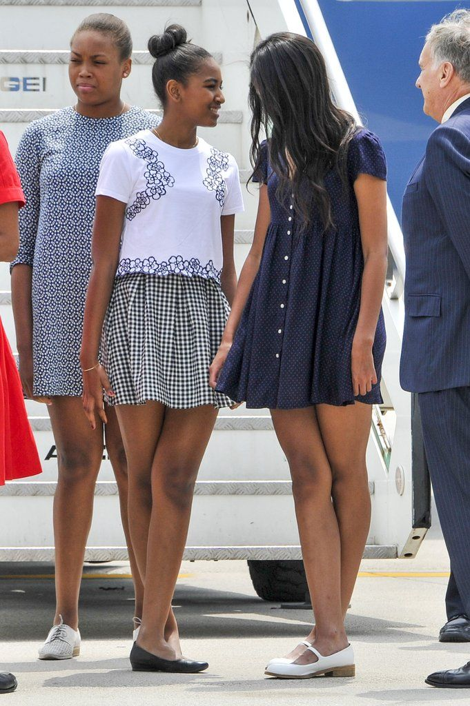 Photo Of Malia Obama >> 15 Moments Between Malia and Sasha Obama That Will Make You Want to Hug Your Own Sister | Flou ...