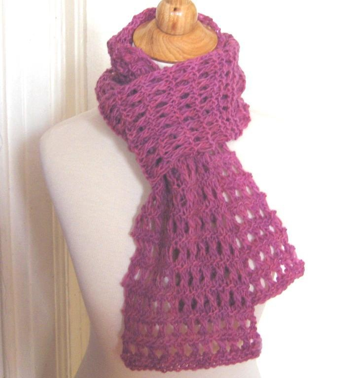 Knit Lace Stitch Scarf : Heavenly Garter Lace Scarf + Tutorial Lace, Nice and Garter