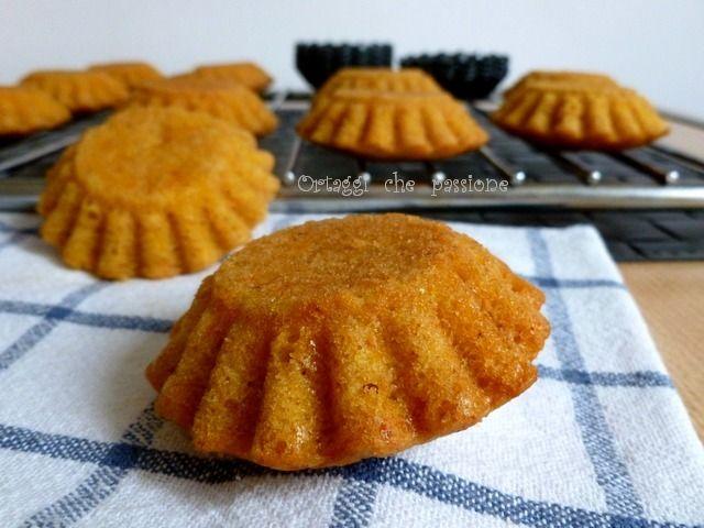 Muffin di zucca cruda