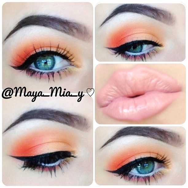 ❃ Spring looks using the Coastal Scents 252  ultimate palette ❃  @maya_mia_y