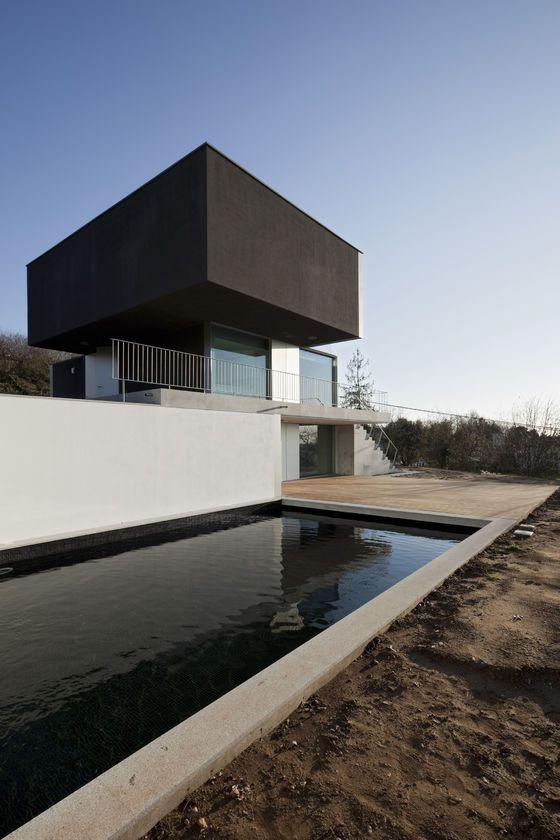 House, Macinhata da Seixa, Portugal by Nuno Brandão Costa Arquitecto.