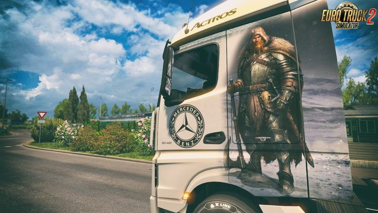 Afbeeldingsresultaat voor mercedes actros viking