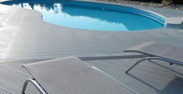 Holz Kunststoff Verbundbelag wird immer beliebter Bodenbelag für Terrassen, Balkone, Gärten sowie für Pool-Decks. WPC Deck…