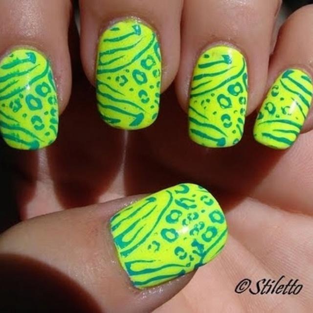 Mejores 8 imágenes de Nails en Pinterest | Estilos de maquillaje, La ...