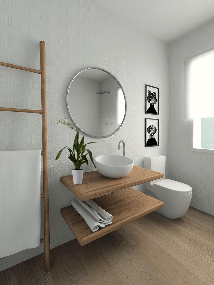 Bachas Para Baño Modernas: Cuarto De Baño, Colores De Cuarto De Baño y Baño De Color Marrón
