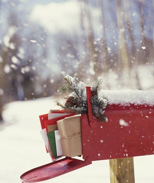Best 25+ Christmas Mailbox Decorations Ideas On Pinterest