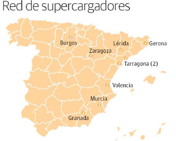 La compañía de Elon Musk cuenta con 795 estaciones con 5.085 supercargadores en el mudo, según cifras de su portal oficial. Sin embargo, solo ocho estaciones están situadas en España y todas ellas tienen un denominador común: la cercanía al Mediterráneo -a excepción de las de carga ultrarrápida de Burgos, Ariza (Zaragoza) y de La Gineta (Albacete), aprobada en noviembre y en proceso de construcción-. De momento se ha instalado el corredor del Mediterráneo por el alto turismo que esta zona…