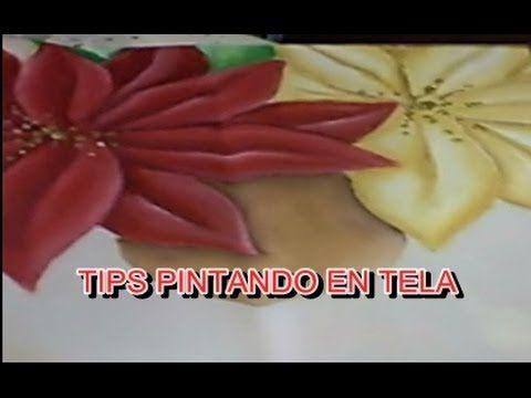 PINTURA EN TELA PERFILADO - YouTube