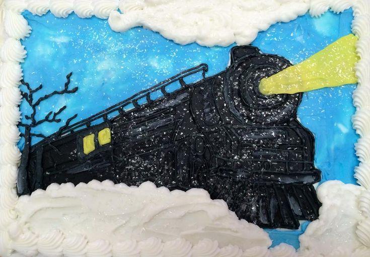 Polar Express birthday cake!