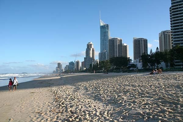 Surfers Paradise Beach, Gold Coast - Qld