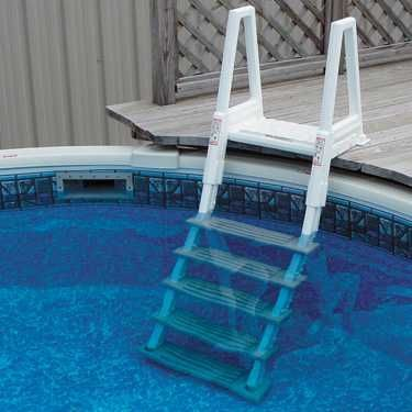 deluxe in pool ladder for above ground pools