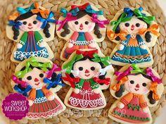 galletas decoradas para fiesta mexicana - Google Search