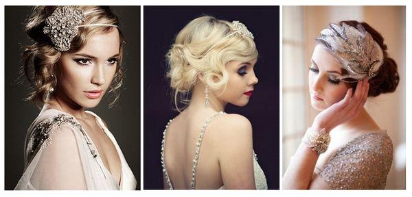 прически в стиле Великий Гетсби  #wedding #hairdress