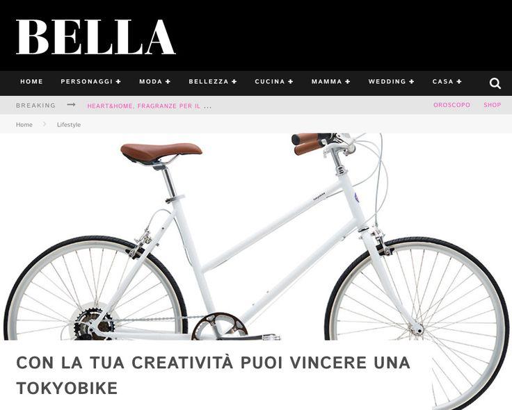 """""""NAVA Design Your Style"""" @BELLA.it ⇒ http://www.bella.it/tua-creativita-puoi-vincere-tokyobike/ #navadesign #bella #concorso #tokyobike #designyourstyle"""