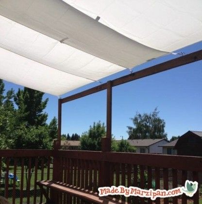 diy awning diy pinterest decks  ideas and diy and crafts Retractable Awnings Home Depot Home Depot Awnings for Decks