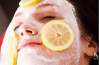 Белковая маска для лица от черных точек с сахаром